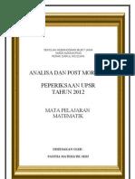 Upsr Math 2012 Perbandingan