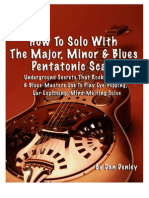 Pentatonic guitar guide