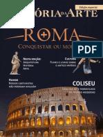 história da arte de roma