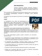 12 - El Constructivismo Pedagógico