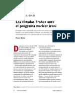 Politica Exterior - Iran y Arabes
