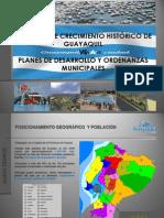 Patrones de Crecimiento vs Planes y Ordenanzas Municipales.6-2010