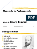 Georg Simmel An Introduction & Overview