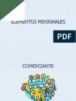 Elementos Personales Del Concurso Mercantil