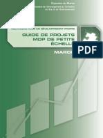 2.6 Guide Projets MDP Petite Echelle