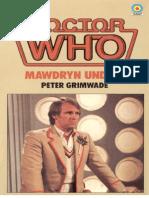 Doctor Who - Mawdryn Undead - Peter Grimwade