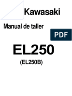 Manual Kawasaki 250r