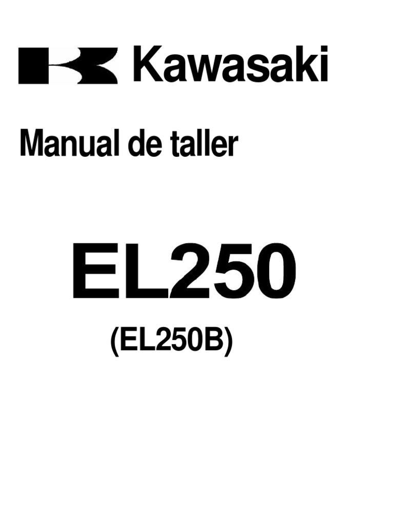 Kawasaki EL250 Eliminator Service Manual GER.de.Es