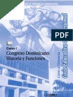 Congreso Dominicano Historia Funciones CapIIIyIV