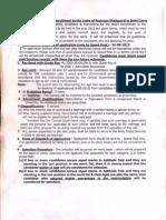 Instructions Delhi Circle 15 July 2013