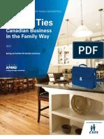 KPMG Enterprise - Canadian Family Business Report