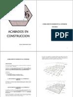Acabados en La Construccion