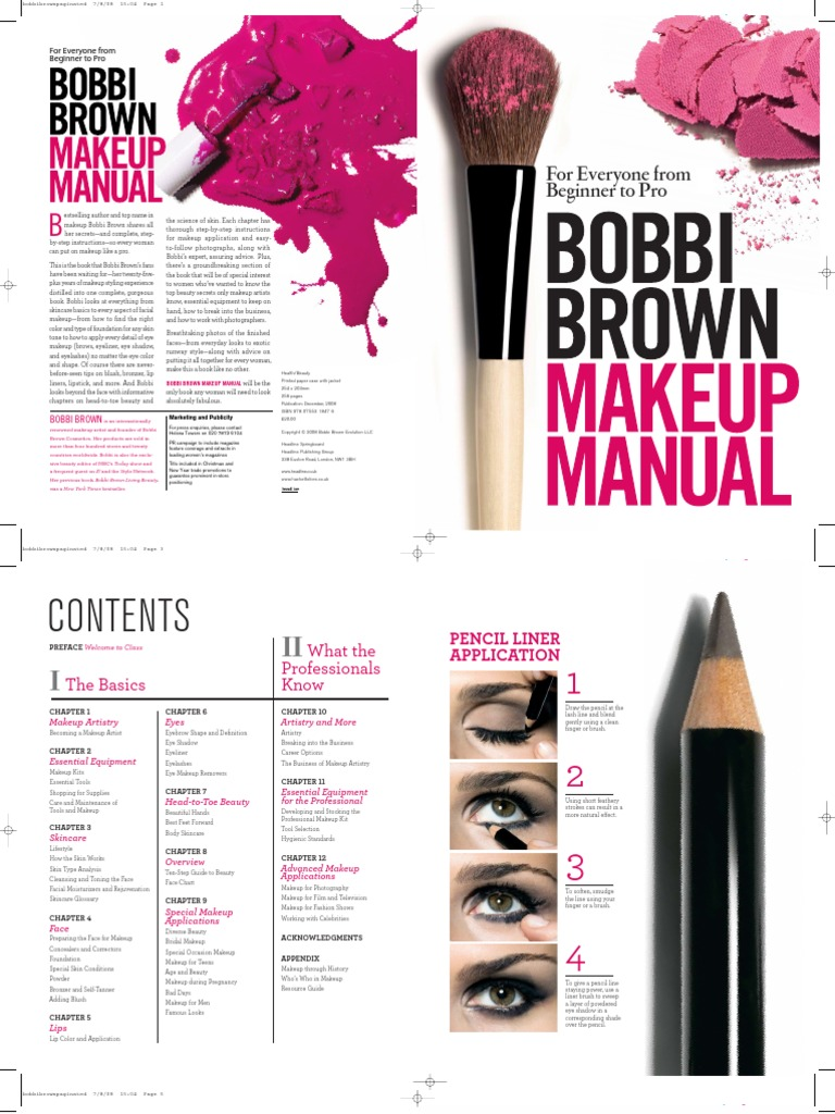 Bobbi Brown Cosmetics Human Appearance