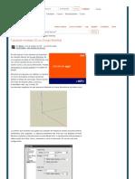 Tutorial de Modelado 3D Con Google SketchUp
