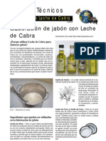 Jabon Con Leche de Cabra