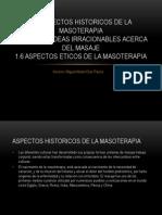 Tema 1.4, 1.5, 1.6 de Masoterapia