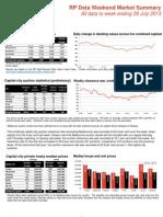 Weekend Market Summary Week Ending 2013 July 28 (3)