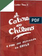 El Cobre es Chileno y debe ser Refinado en Chile / Carlos Tomic (1999)