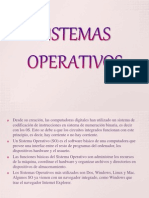 Sistema Operativo Definicion