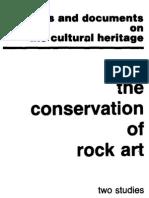 Brunet, conservação da arte rupestre unesco