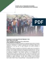 Viii Congreso Nacional de La Feunassc Ecuador
