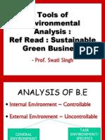1. Environment Analysis