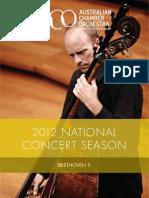 Beethoven9 Program Website