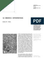 Cpa3 14 La Memoria Interpretada