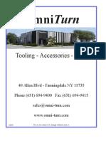 Tooling Catalog