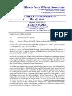 California Peace Officers Association. Chaker v Crogan