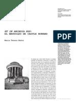 Cpa3 10 Et in Arcadia Ego Mausoleo Castle Howard
