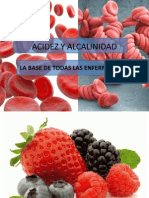 Acidez y Alcalinidad