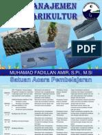 Manajemen Marikultur I-II