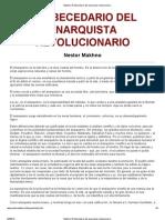 Makhno_ El Abecedario Del Anarquista Revolucionario