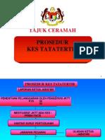 (3) PROSEDUR TATATERTIB