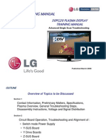Lg 50pg20 Training Manual