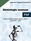 Cours Mod BioClin Sémiologie osseuse 2012
