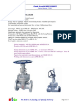 MIGZ Cast-Steel Gate Valve
