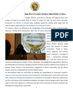 Report of 27 February 2012 Pitching Africa Briefing