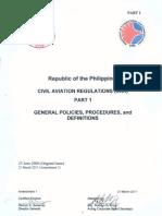 001 PCAR General Policies