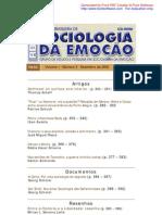 Revista Brasileira de Sociologia da Eemoçãop v1,n3, dez2002