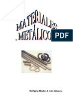TEMA 6 MATERIALES METÁLICOS