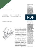 13 Candem Projects 1965 1980 Luz Sempere Sanchez