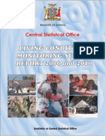 Zambia 2010 Living Conditions Monitoring Survey Report