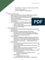 Notes - Conrad, Porter (2004) Human Growth Hormone - enhancement
