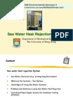 Seawater Heat Rejection