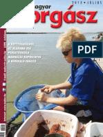 Magyar Horgasz 2013. Julius