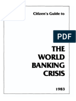 The World Banking Crisis Howard Phillips 1983 36pgs POL ECO.sml