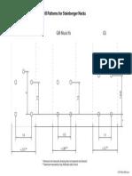 Drill Patterns for Steinberger Necks