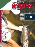 Magyar Horgász 2013. Junius